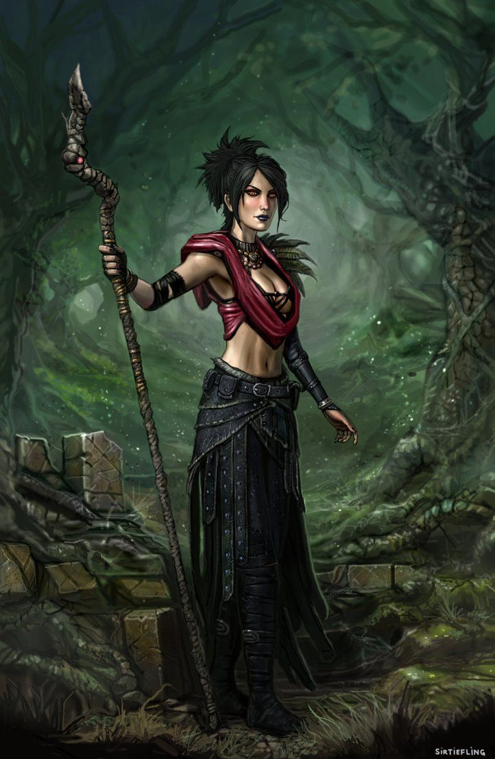 Morrigan Wins (Dragon Age) by SirTiefling.deviantart.com on @DeviantArt
