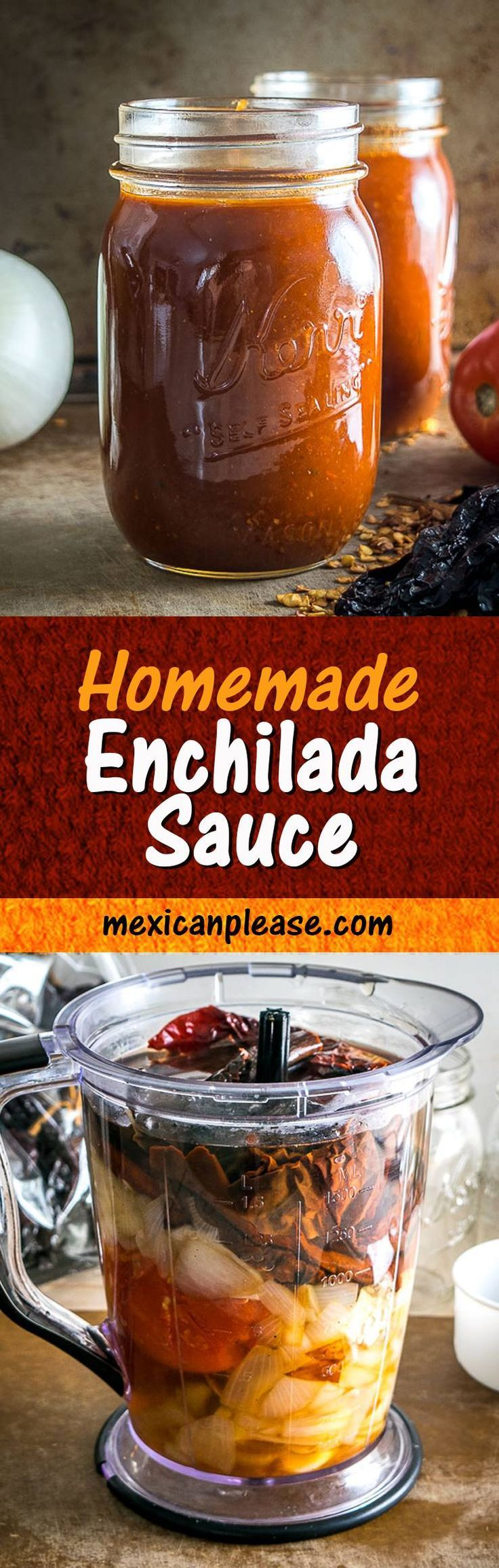 65515 best best food blogger recipes images on pinterest kitchens this is the enchilada sauce that i always come back to i used all anchos for this batch but there is some leeway on the chili peppers you could add in forumfinder Gallery