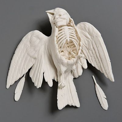 Black, White & Lace: Artful Wednesday: Kate MacDowell
