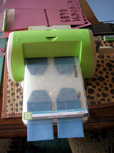 Embossing Machine tips / put ONLY the top of tags or envelope flaps into embossing folder to add texture to those areas