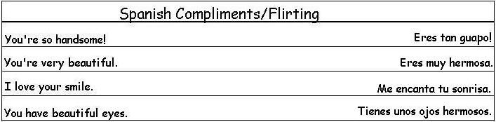 flirting quotes in spanish words spanish language words