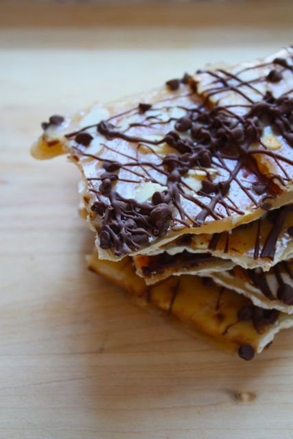 Matzo Almond Croccante - Blue-Eyed Bakers - Blue Eyed Bakers