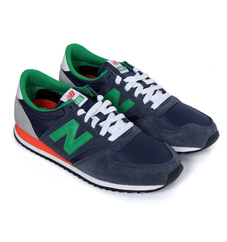 new balance green and blue