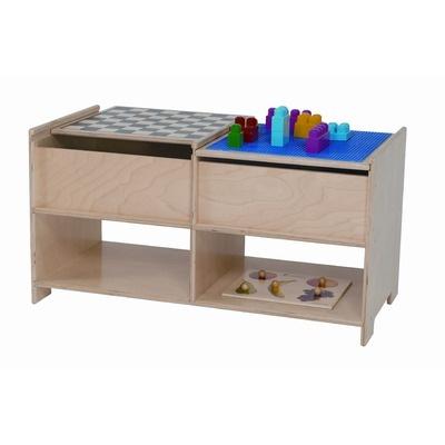 Wood Designs Build N Play Table