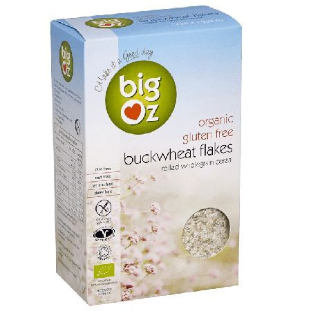 Big Oz Buckwheat Flakes - 500 g 019068 Big Oz only use A grade organic whole grains from suppliers certified by the Soil Association, and all our products are approved by the Coeliac Society. By using traditional methods of rolling and fla http://www.MightGet.com/march-2017-1/big-oz-buckwheat-flakes--500 g-019068.asp