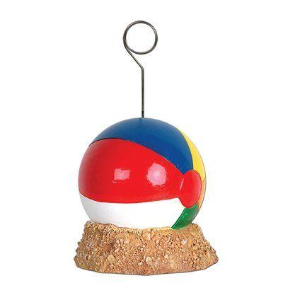 The Beistle Company Beach Ball Photo/Balloon Holder