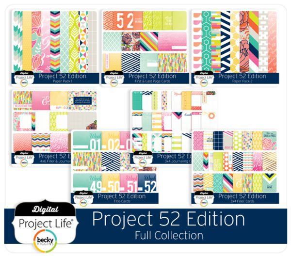 Project 52 Edition Full Collection