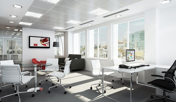 Office layout office pinterest modern offices for Modern office design layout