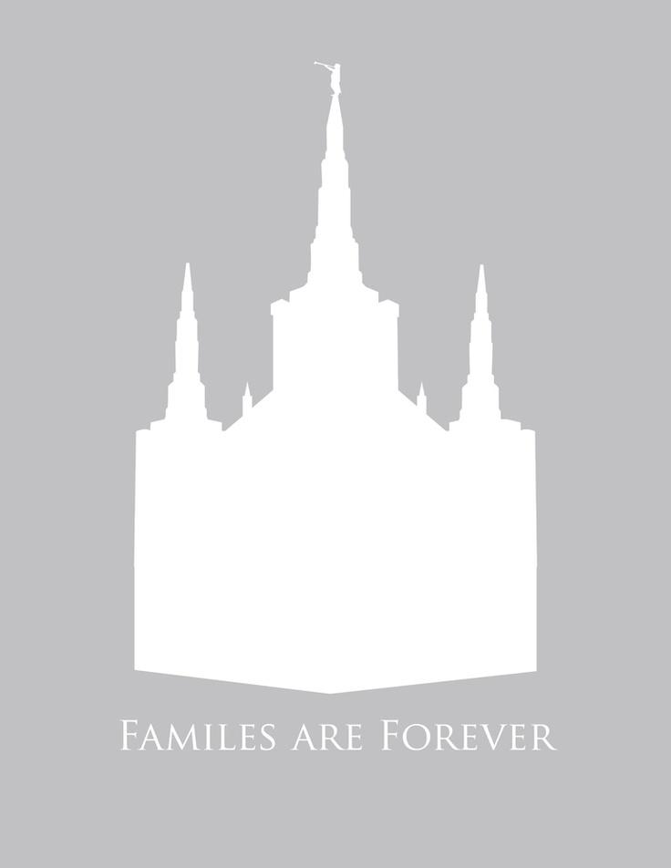 LDS Portland Temple - Free Printable