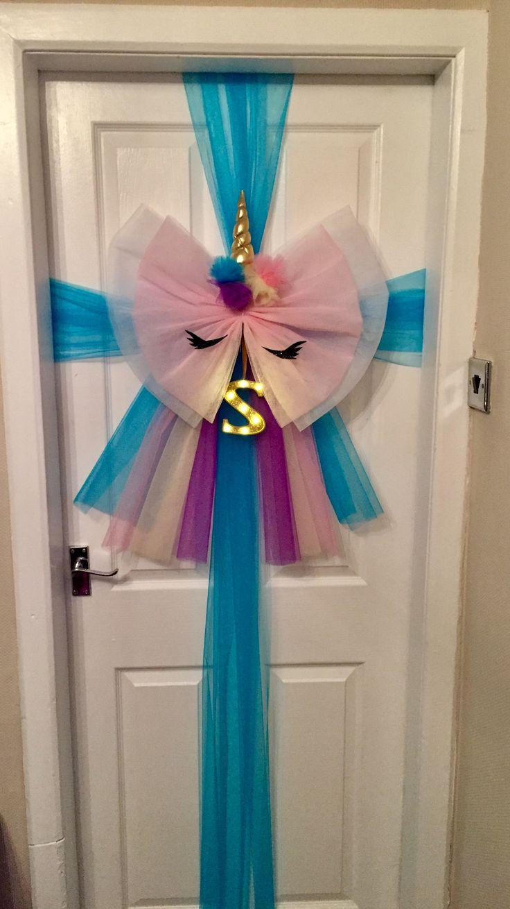 Unicorn door bow & 29 best Door bows images on Pinterest