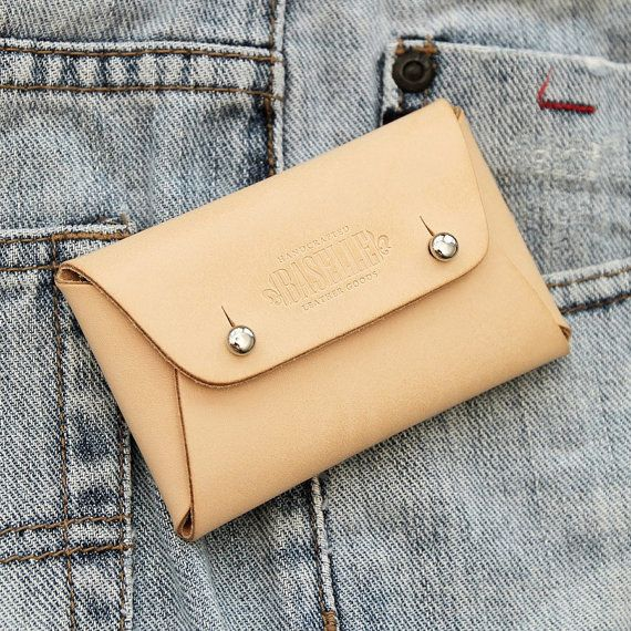 Baselle | Handmade Leather Wallet Business Card Case