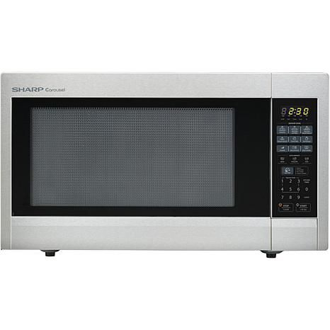 Epic Sharp Carousel Cu Ft W Counter Microwave Oven