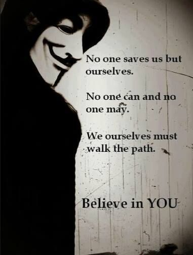 anonymous - mask idea