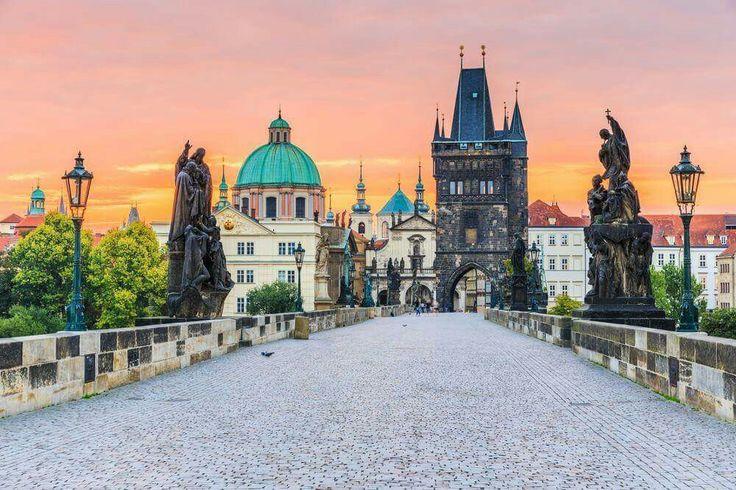 Γέφυρα του Καρόλου, Πράγα, Τσεχική Δημοκρατία.