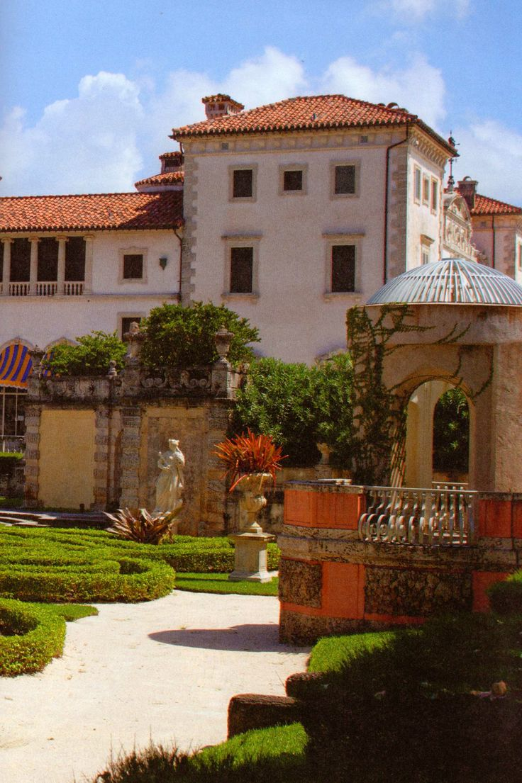 52 best Vizcaya museum and gardens images on Pinterest | Miami ...