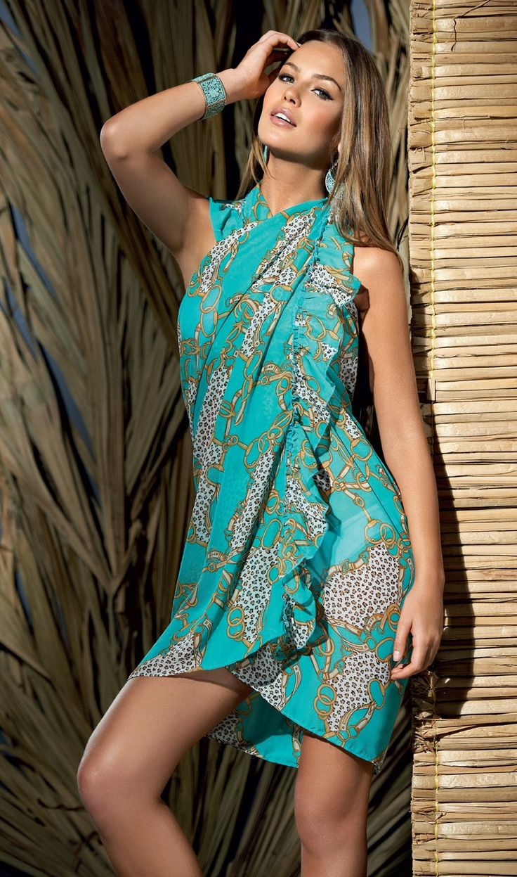 swim suit cover up... This is like the one I got for my sis in grand Turk... Here's how you wrap it Felicia!
