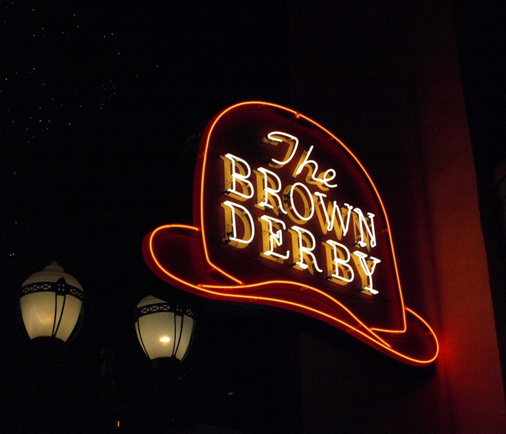 The Brown Derby Restaurant...there was one of these in Columbus