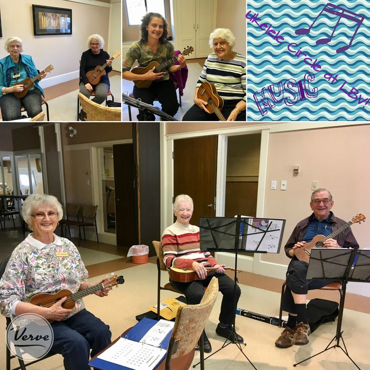 We're so excited to get our Ukulele Circle going again this fall! Lake Bonavista Village has some amazingly talented people inside its walls and this is just one of the ways they dazzle us with their skills. We can't wait to hear what they come up with! 🎸