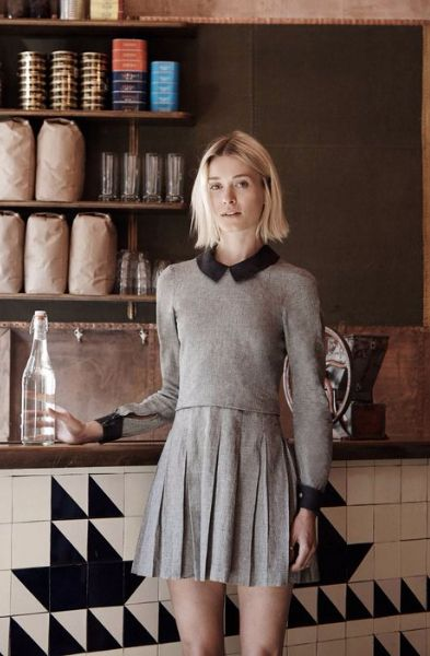 With her line, Lady and Butler, Eli Caner is giving hotel and restaurant uniforms an ultra-fashionable upgrade.