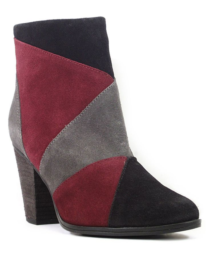 Take a look at this Chelsea Crew Burgundy & Gray Suede Baxter Boot today!Zulily has great deal tell they I sent you and I get points please