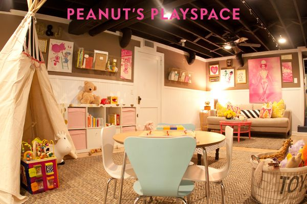 10 best images about playroom fun and cool kid rooms on for Cool playroom designs