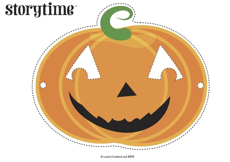 We made cute Pumpkin Masks for Storytime Issue 14's Pumpkin Jack poem! ~ STORYTIMEMAGAZINE.COM