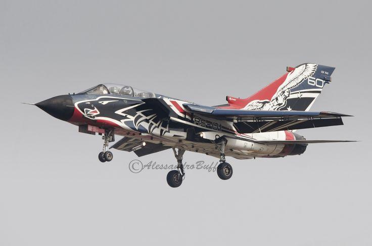 https://flic.kr/p/VrqrTG | Panavia Tornado RS-01 CSX7041 Italian Air Force | Turin Airport