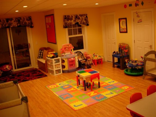 Home daycare daycares and layout on pinterest - Daycare room design ...