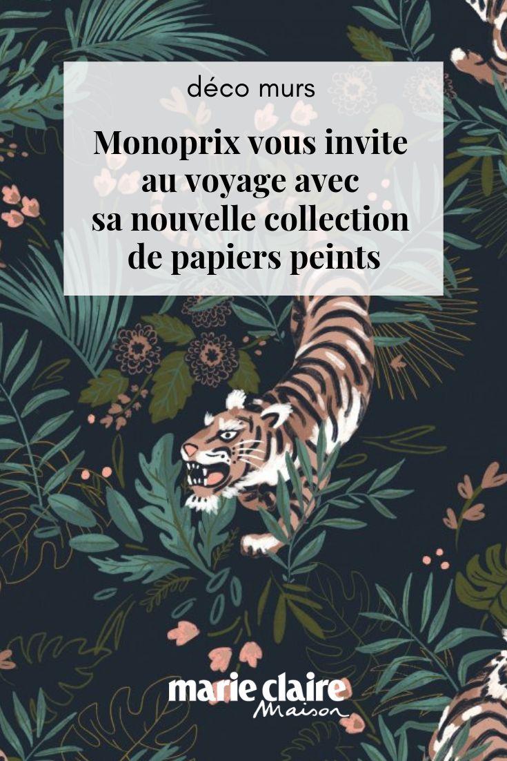 Monoprix vous invite au voyage avec sa nouvelle collection de papiers peints