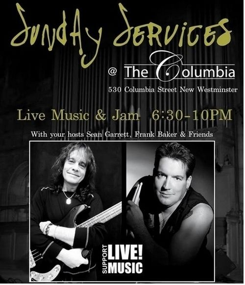Sunday Services FEB 16 THE COLUMBIA