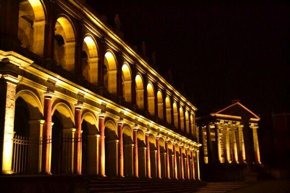 Set di Roma antica a Cinecittà - Roma