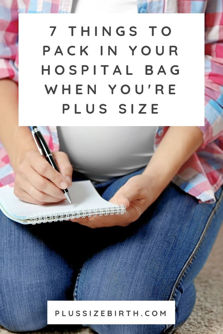 When you have a bigger pregnancy and you pack your bags, you …   – Pregnancy