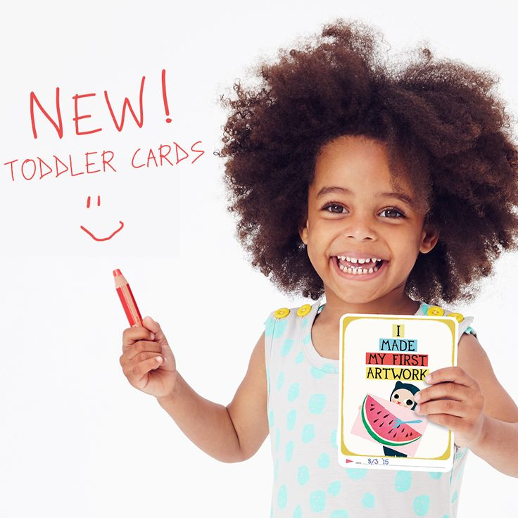 Hurray! Our newest product Toddler Cards is now available!  With Milestone™ Toddler Cards parents can capture and remember memorable toddler triumphs like riding a bike, setting the table and mastering the potty.  www.milestonecards.com