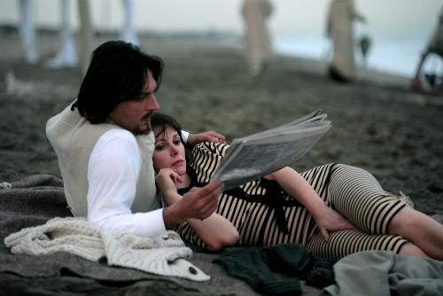 Coco Chanel with Barbora Bobulova as the young Coco and Olivier Sitruk as Boy Chapel. 2008 tv movie by director Christian Duguay.