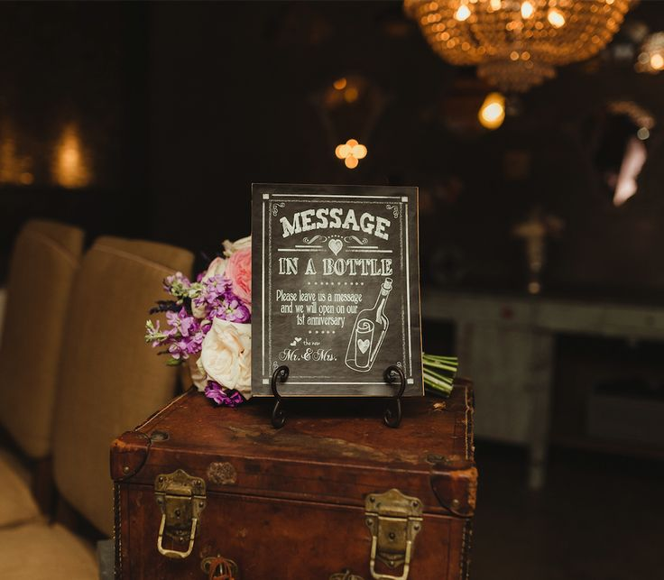 Vintage details from our Villa Montana Beach Resort reception!