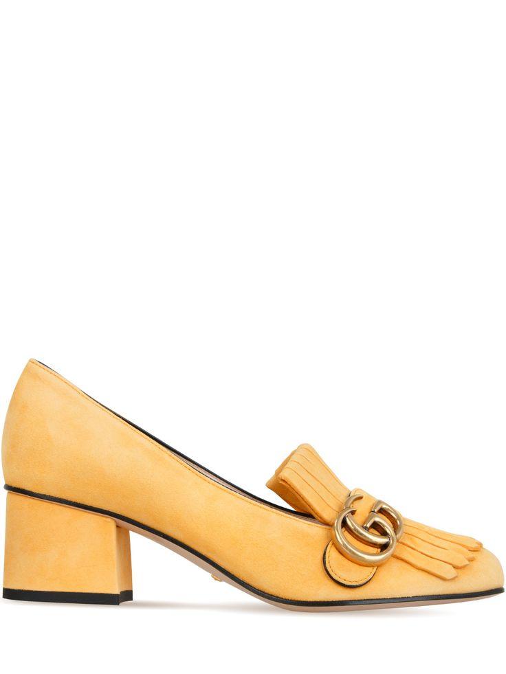 Замшевые туфли от GUCCI
