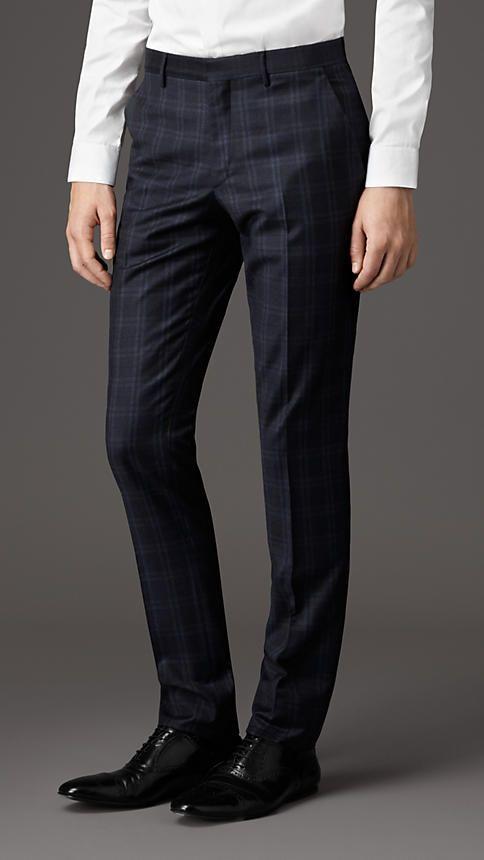Burberry London Slim Fit Virgin Wool Trousers #riccardomorini