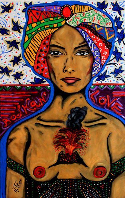 Balkan Love, oil on canvas, 60/80cm, 2014