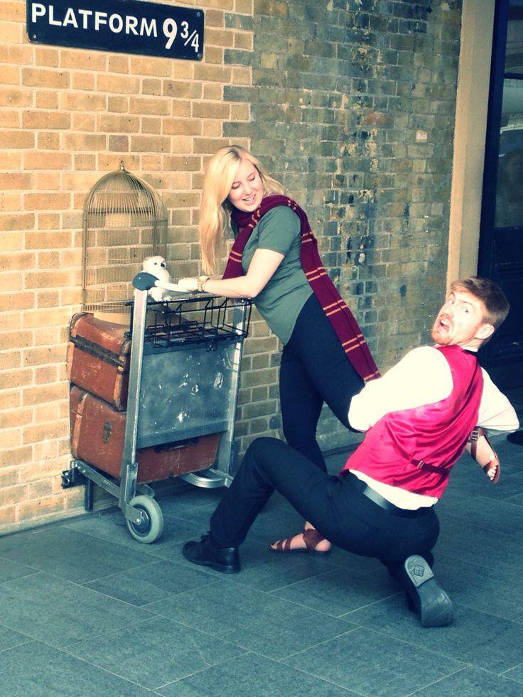 Platform 9 3/4, Harry Potter, Kings Cross, London