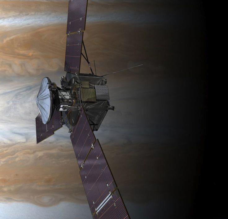 NASA's Juno Peers Inside a Giant