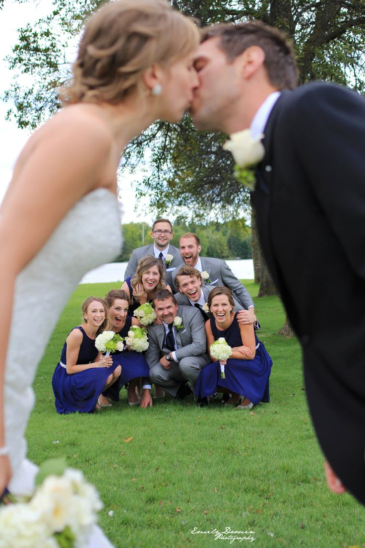Wedding party fun! Click to see high resolution. Photo by Emily Drouin Photography. Facebook: Emily Drouin Photography. Ontario, Canada.