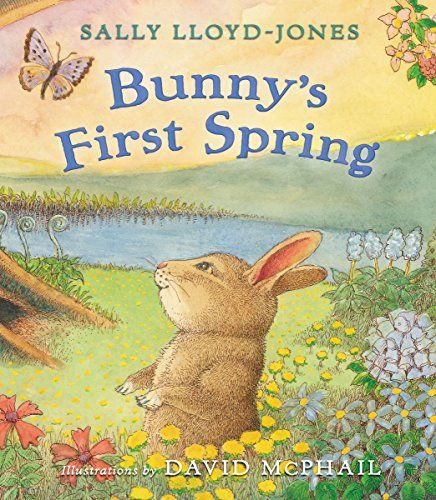 Bunny's First Spring by Sally Lloyd-Jones http://smile.amazon.com/dp/0310733863/ref=cm_sw_r_pi_dp_XHVevb19RQ5R7