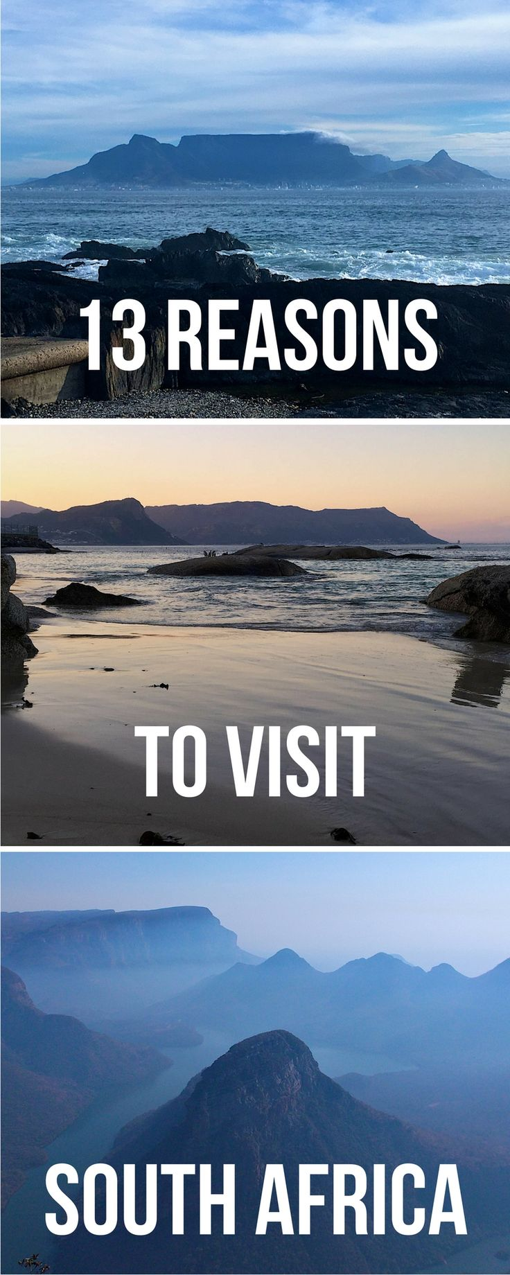 13 Great reasons to visit South Africa | Reasons why you should visit South Africa | South Africa #southafrica #traveltips