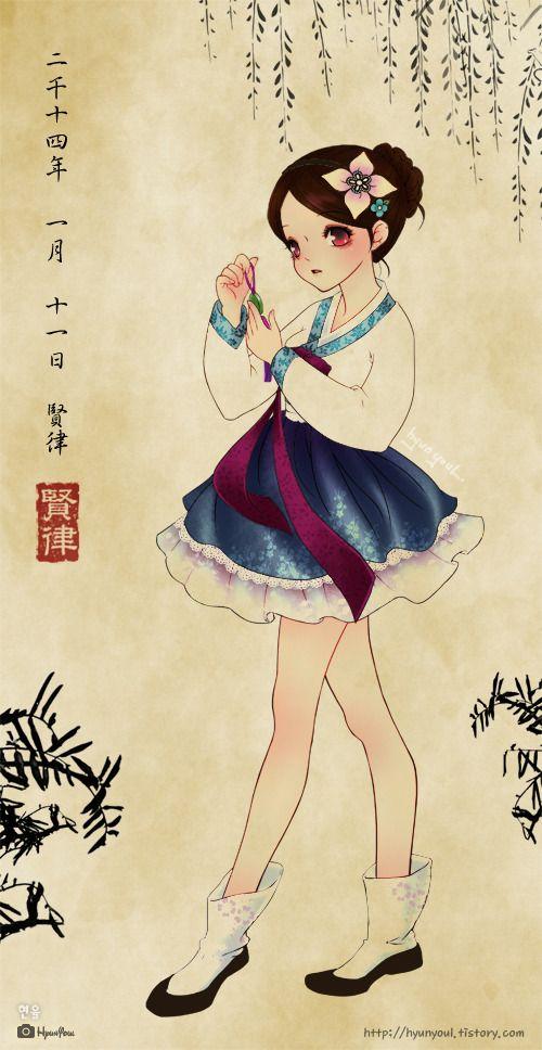 간만에 그려본 여자아이 :: ♡ 일코어의 짤과 비밀의 방 ♡ 출처 : http://hyunyoul.tistory.com/m/post/214