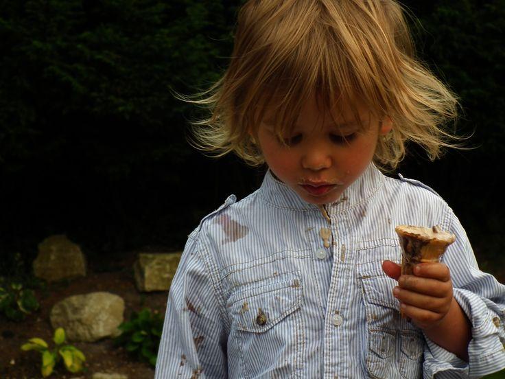 Ice cream all over!