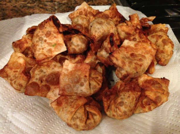 Thai Fried Beef Wontons | SandBar, Anguilla | Pinterest