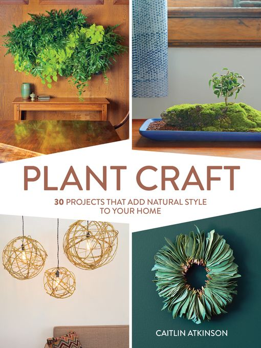 """""""30 Projects that Add Natural Style to Your Home."""" Available as an eBook through Overdrive (https://wcl.overdrive.com/media/2958233) and in print."""