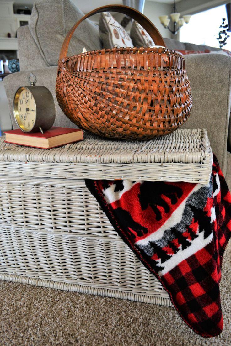 Best 25 Storage baskets with lids ideas on Pinterest Kitchen