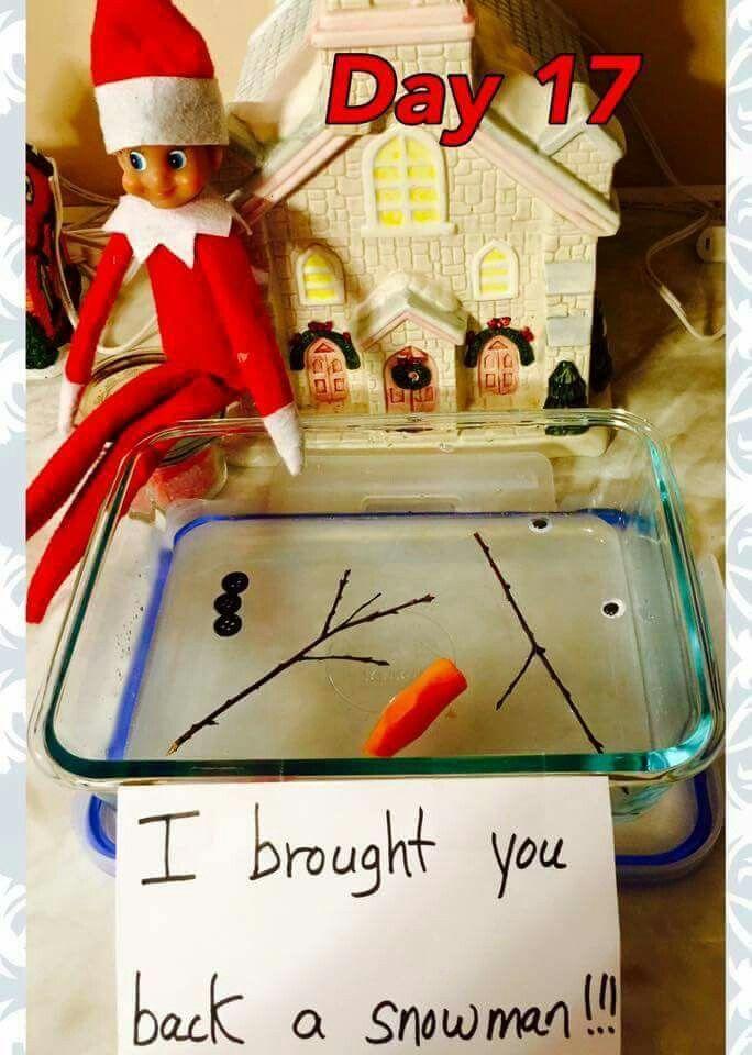 Elf on the shelf ides