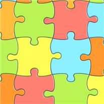 pavimento disegno puzzle